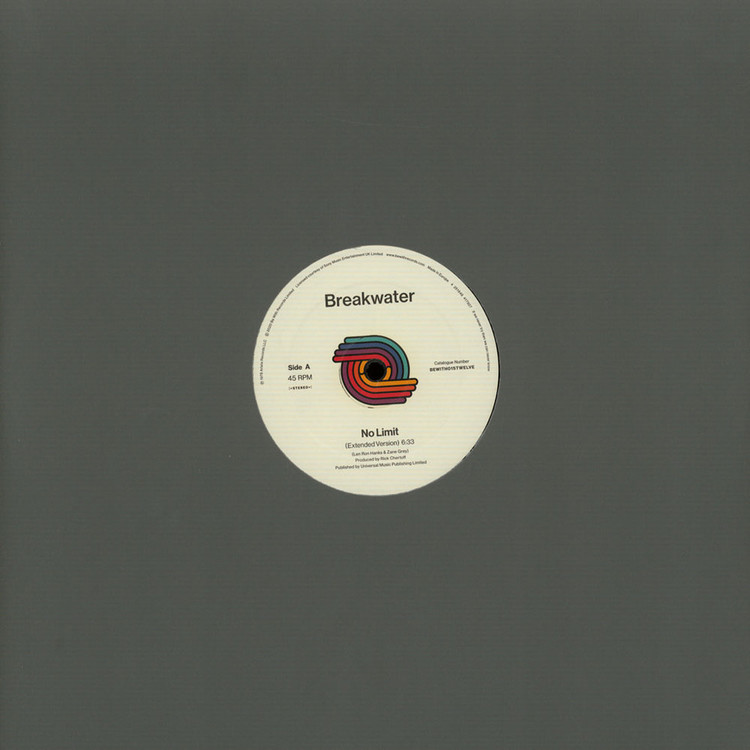 "Breakwater - No Limit / Do It Till The Fluid (Remastered) [12""]"