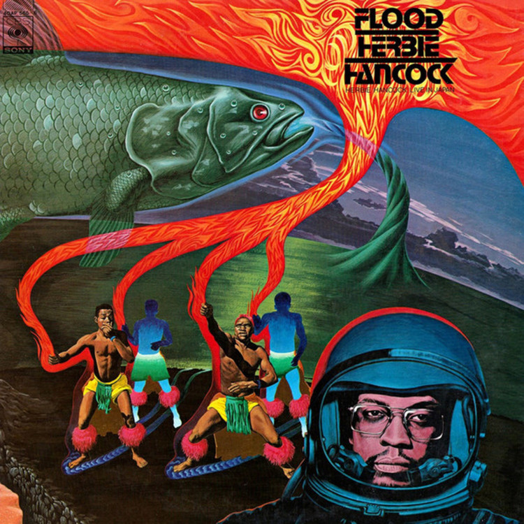 Herbie Hancock - Flood (Red Vinyl Edition) [2LP]