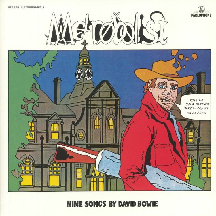 David Bowie - Metrobolist: Nine Songs by David Bowie (50th Anniversary Edition)  [LP]