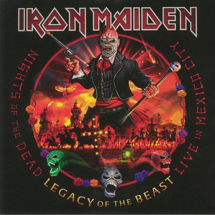 Iron Maiden - Nights Of The Dead Legacy Of The Beast: Live In Mexico City [3LP]