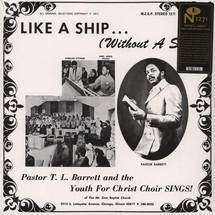 Pastor T.L. Barrett And The Youth For Christ Choir - Like A Ship (Without A Sail) [LP]